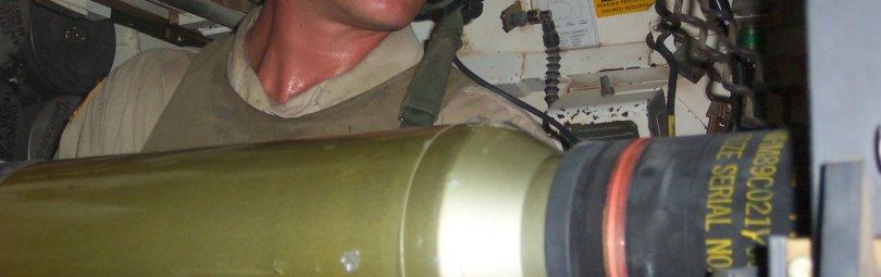 Зарядка танка вручную