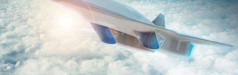 Модель гиперзвукового самолета «Аякс»