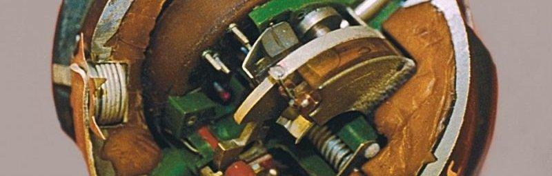 Внутренности мины ПОМ-3