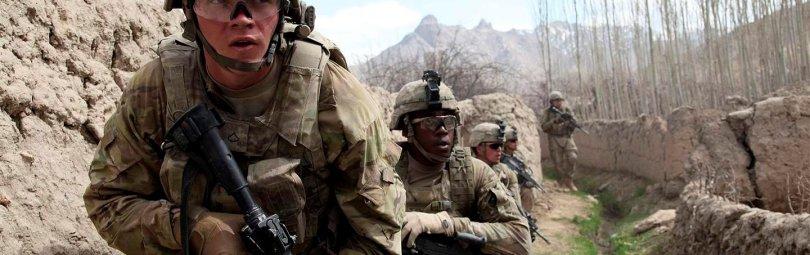 Учения американской пехоты