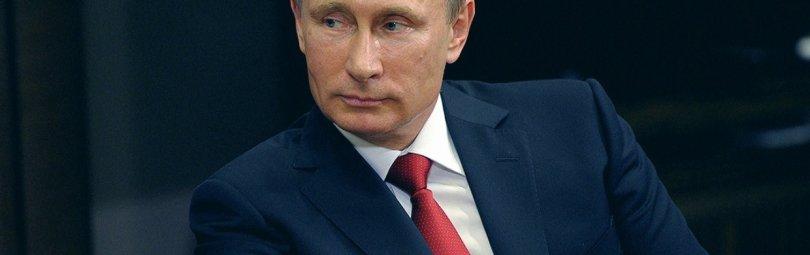Владимир Путин в кресле