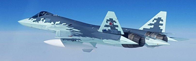 Су-57 в небе