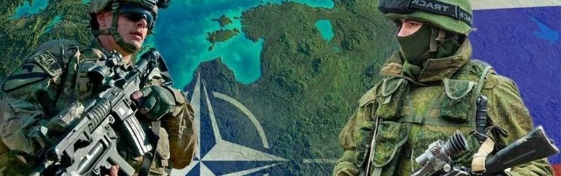 Солдаты РФ и НАТО