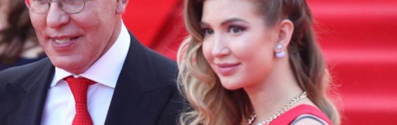 Вячеслав Фетисов с дочерью Анастасией