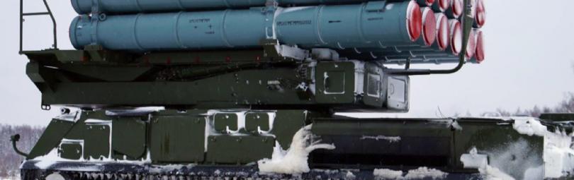 Комплекс «Бук-М3» с ракетами