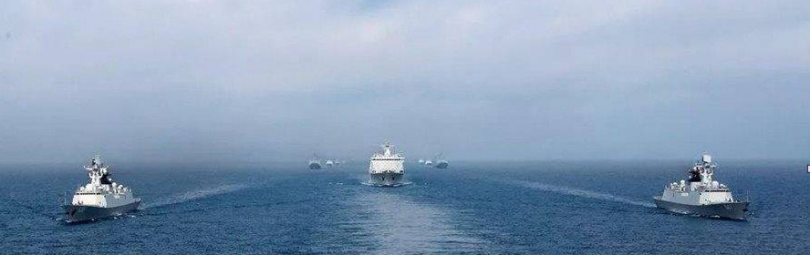 Китайские военные суда