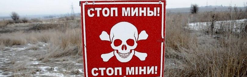 Минное поле на границе ДНР
