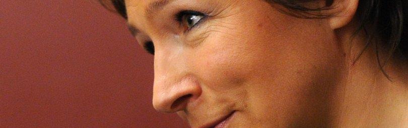 Дочь Ельцина улыбается