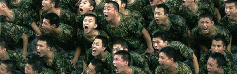 Китайские солдаты