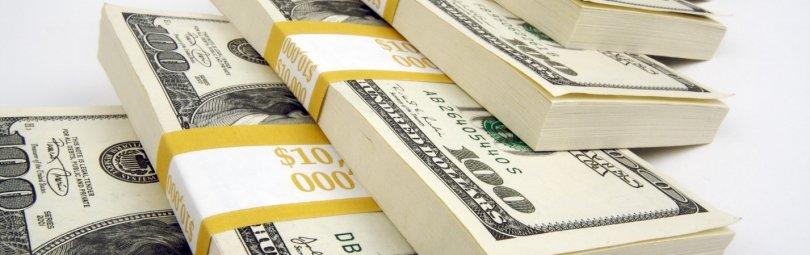 Гора долларов