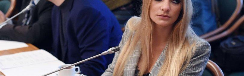 Лиза Пескова, дочь пресс-секретаря РФ