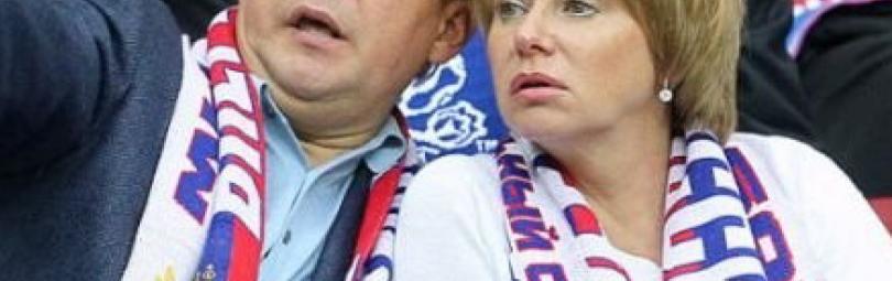 Алексей Миллер с супругой Ириной