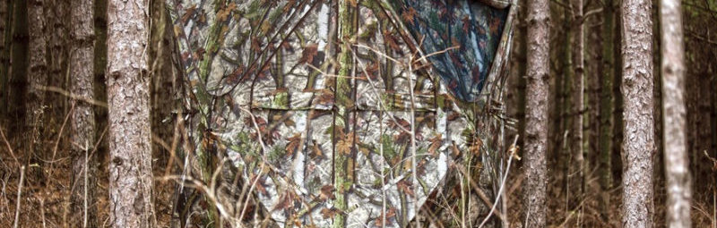 Скрадки и засидки для охоты — Успешная маскировка — залог успеха!