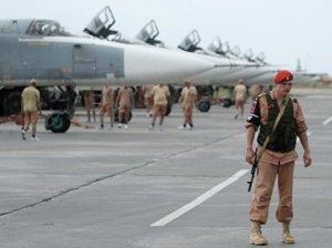 Самолеты на сирийском аэродроме