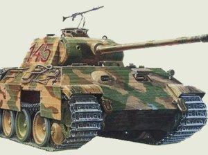 Немецкий танк Пантера