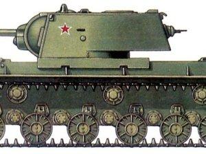 КВ-1 на иллюстрации
