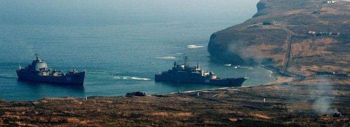 Корабли у Кирил