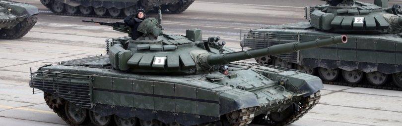 Т-72 на Параде в Москве
