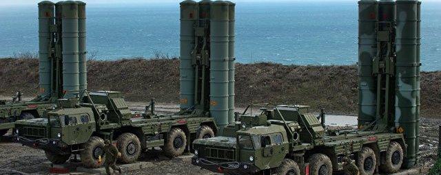 Российский ЗРК С-400