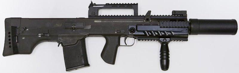 Российский автомат ШАК-12
