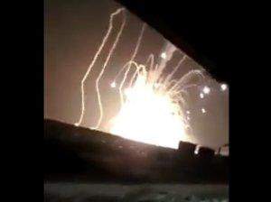 Взрыв на полигоне в Астрахани