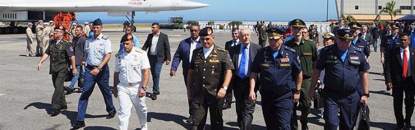 Встреча российских летчиков в Венесуэле