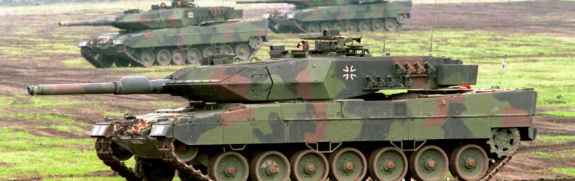 Танки Бундесвера Leopard 2A4/A5