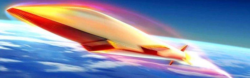 Гиперзвуковая ракета в атмосфере
