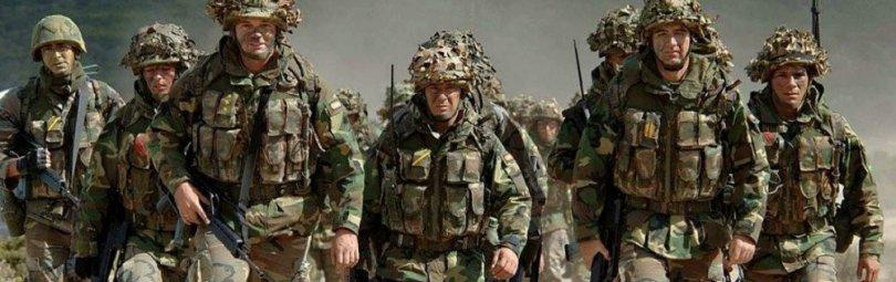 Отряд солдат