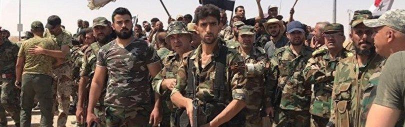 Бойцы сирийской армии