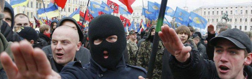 Фашистская акция в Киеве