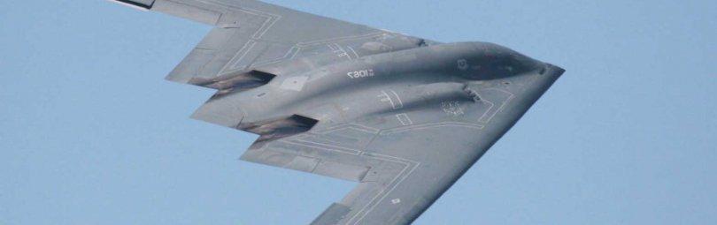 Самолет-невидимка в полете